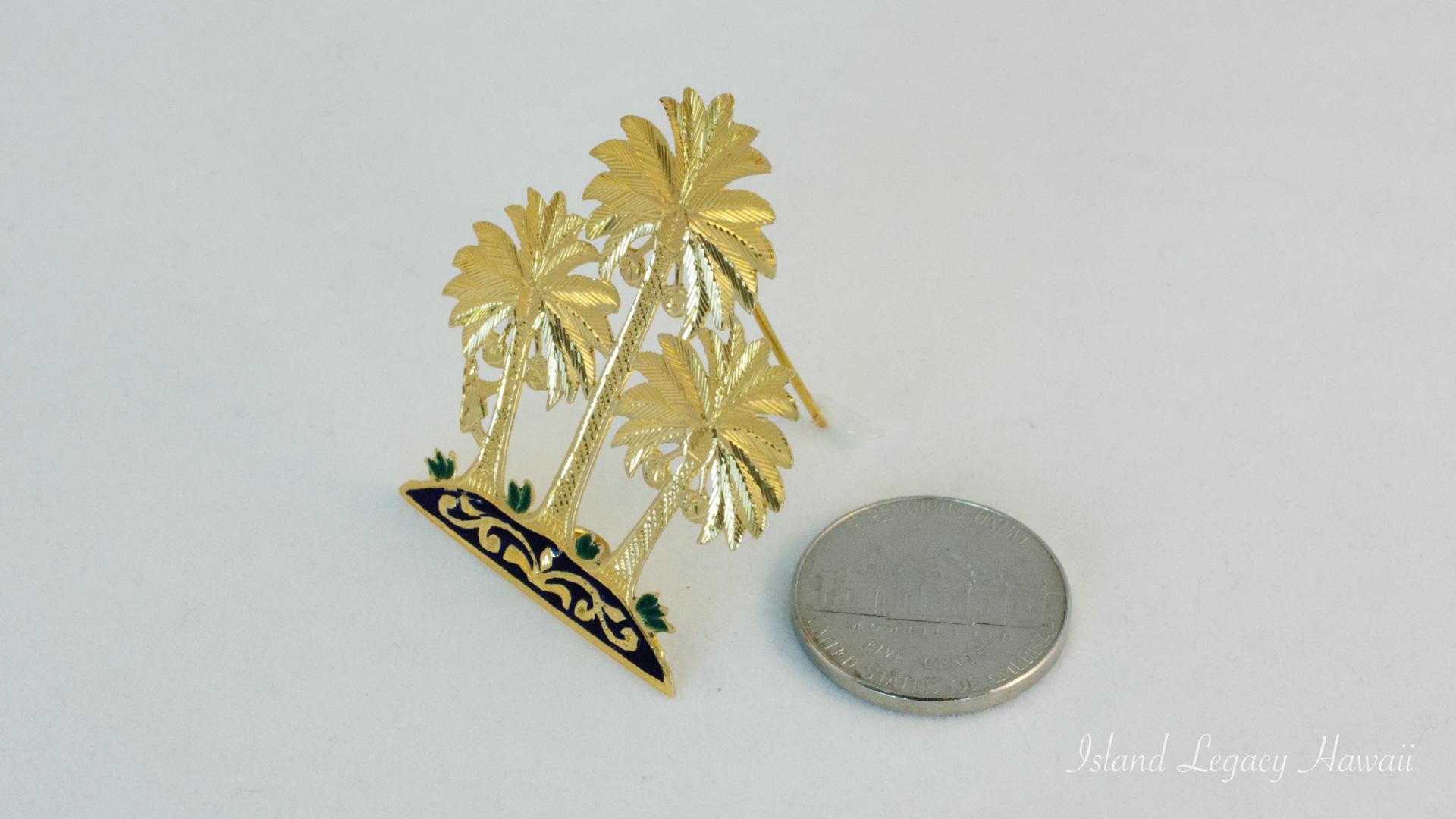 A handmade 18K pin/pendant #110-M012112M